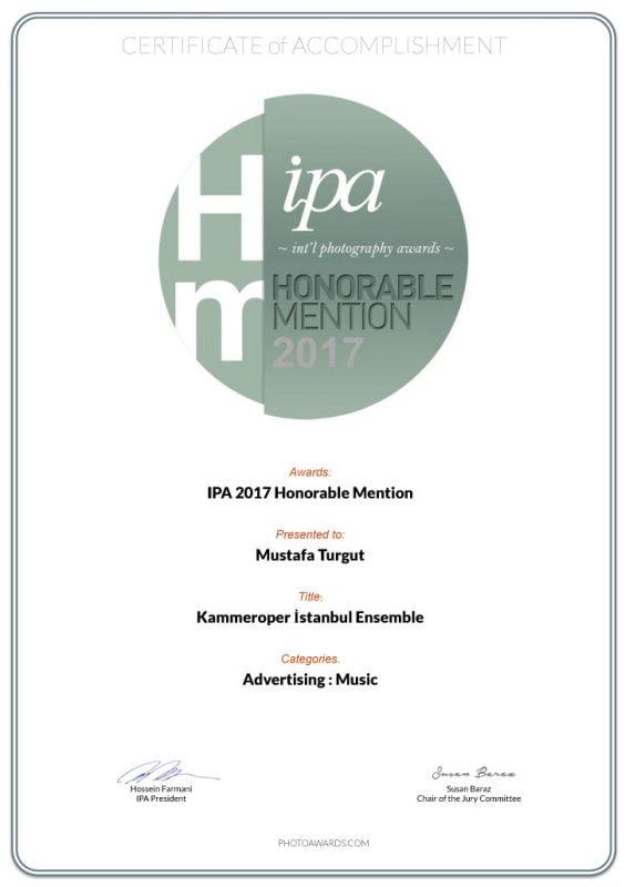 Kamer Opper | IPA Honorable Mention | Mustafa Turgut