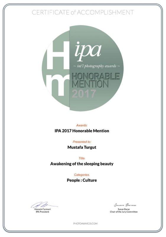 Uyuyan Güzeli Uyandırmak ,IPA Honorable Mention