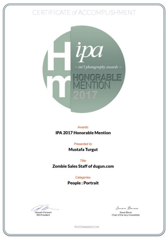 Zombie Sales Staff of dugun.com | IPA Honorable Mention | Mustafa Turgut